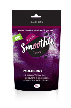 instant mullbery smoothie with probiotics