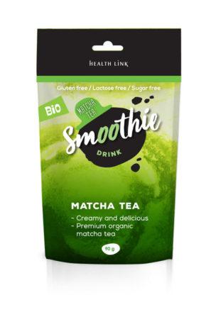 instant organic matcha smoothie